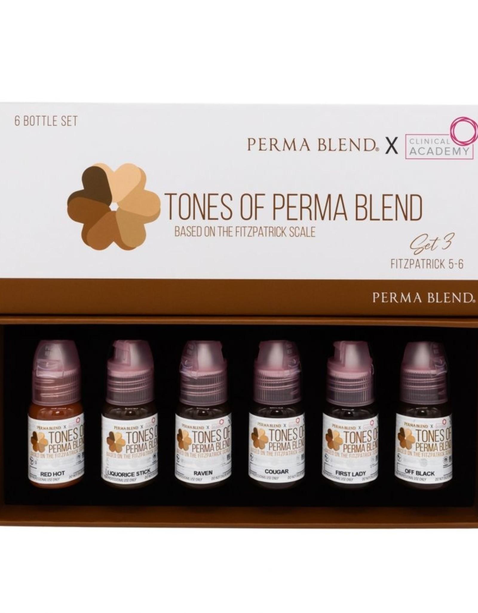 Tones of Perma Blend Set 3 (Fitzpatrick 5-6)