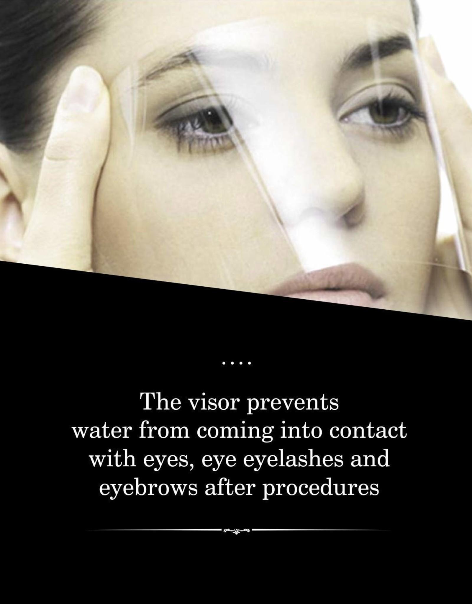 Visière de protection cils & sourcils