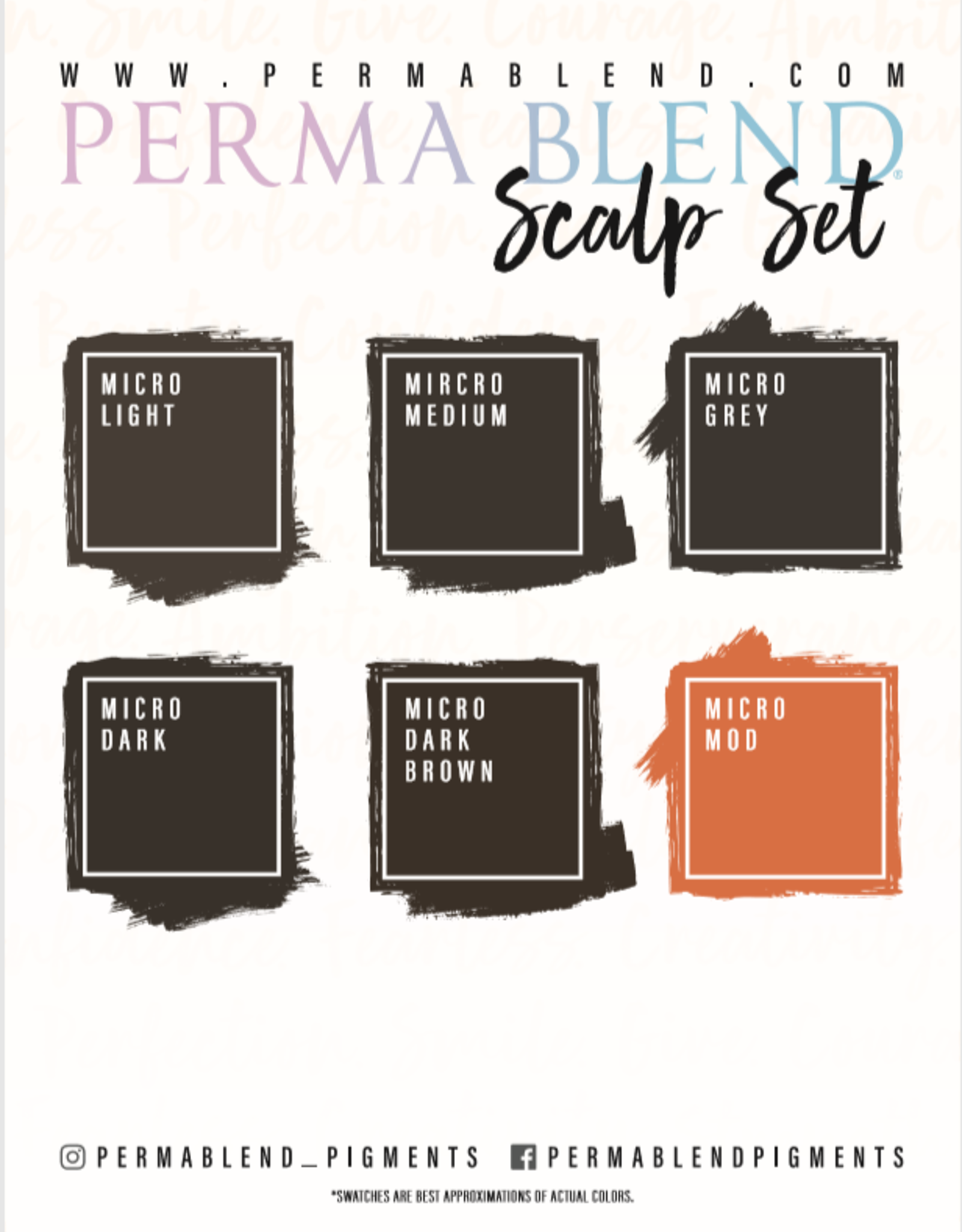Perma Blend Scalp Line