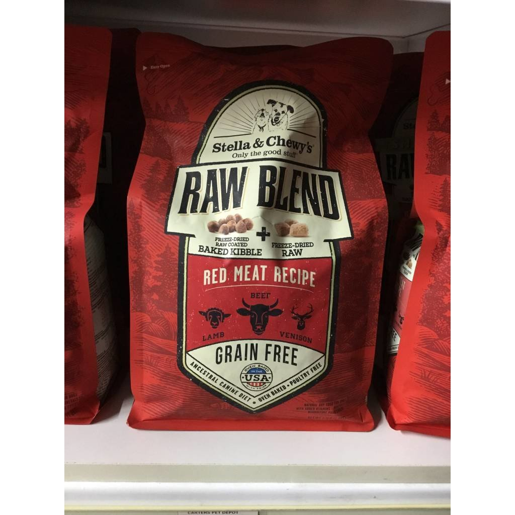 Stella and Chewys STELLAD RAW BLEND RED MEAT 3.5#