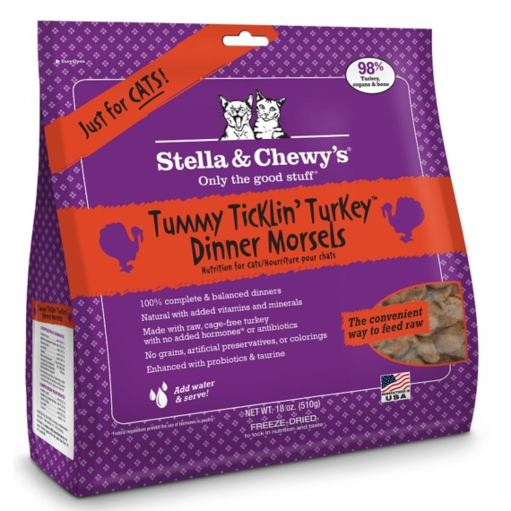 Stella and Chewys STELLAC FD TURKEY 18oz