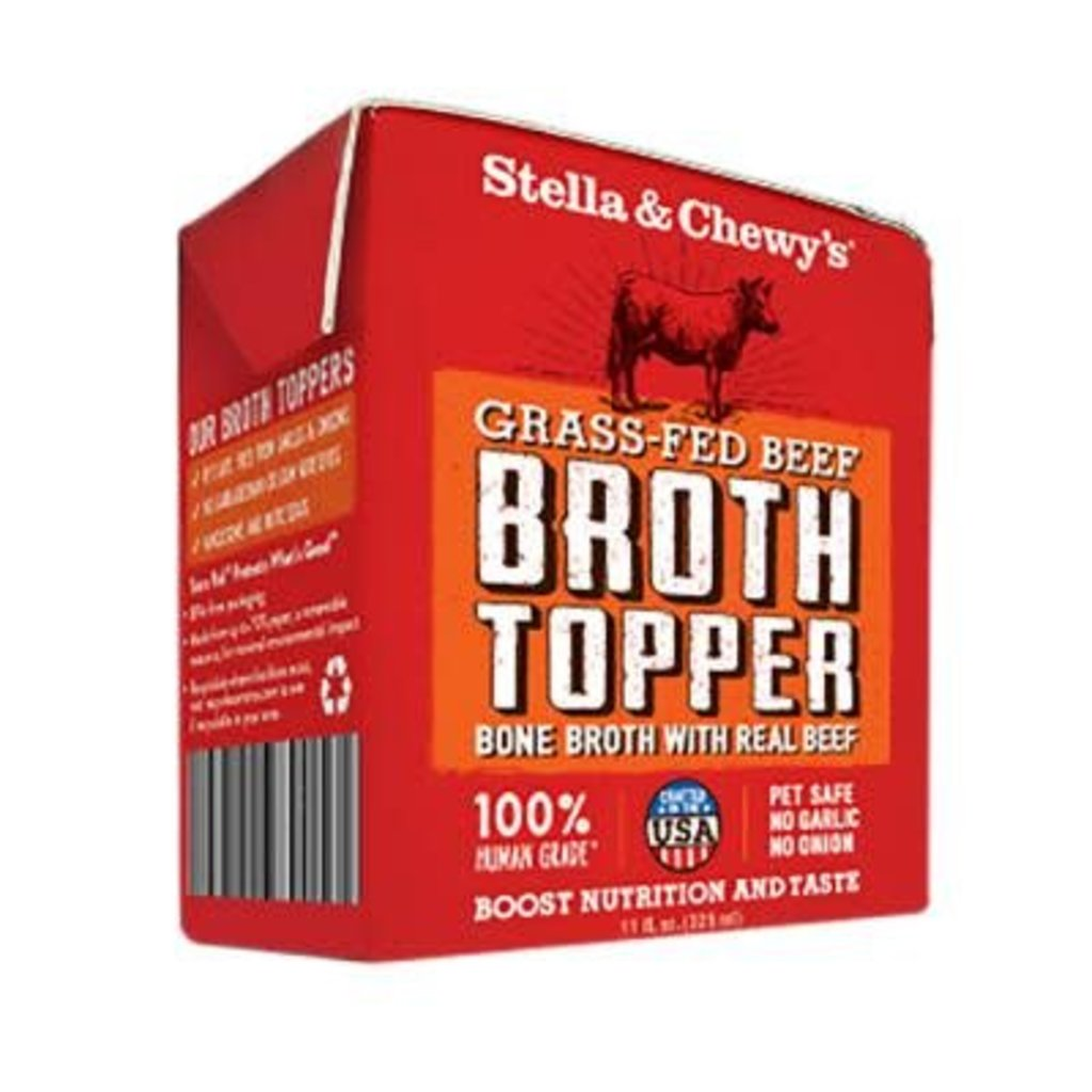 Stella and Chewys STELLAD BEEF BROTH TOPPER 11OZ