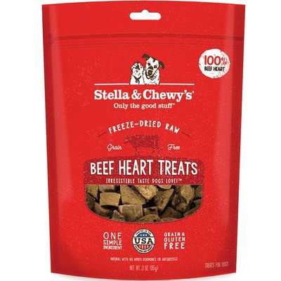 Stella and Chewys STELLA AND CHEWY FD BEEF HEART TREAT