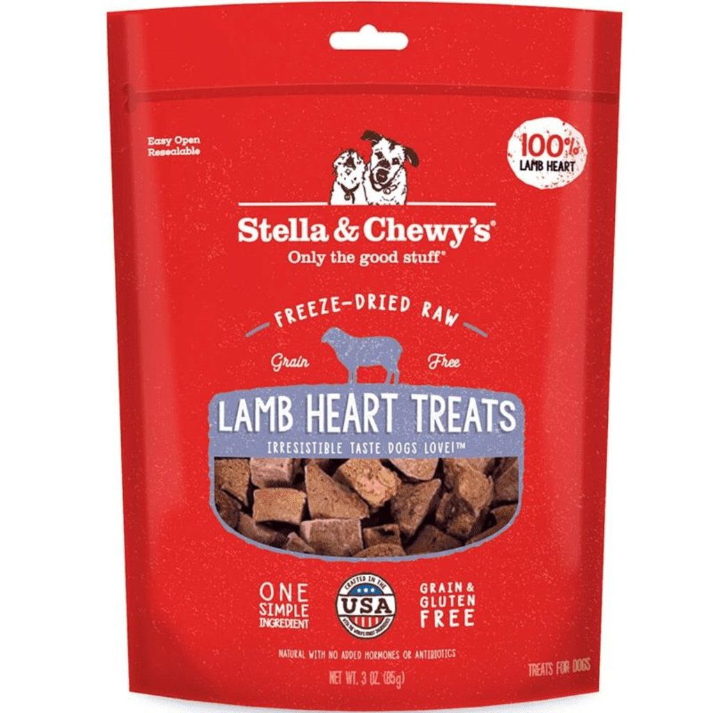 Stella and Chewys STELLA AND CHEWY FD LAMB HEART TREATS