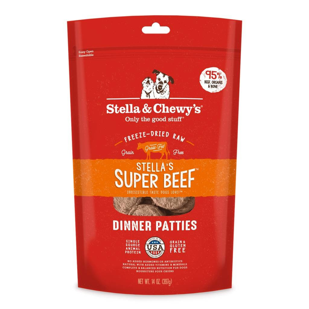Stella and Chewys STELLAD FD BEEF 14oz
