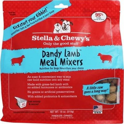 Stella and Chewys STELLAD FD LAMB MIXERS 18OZ