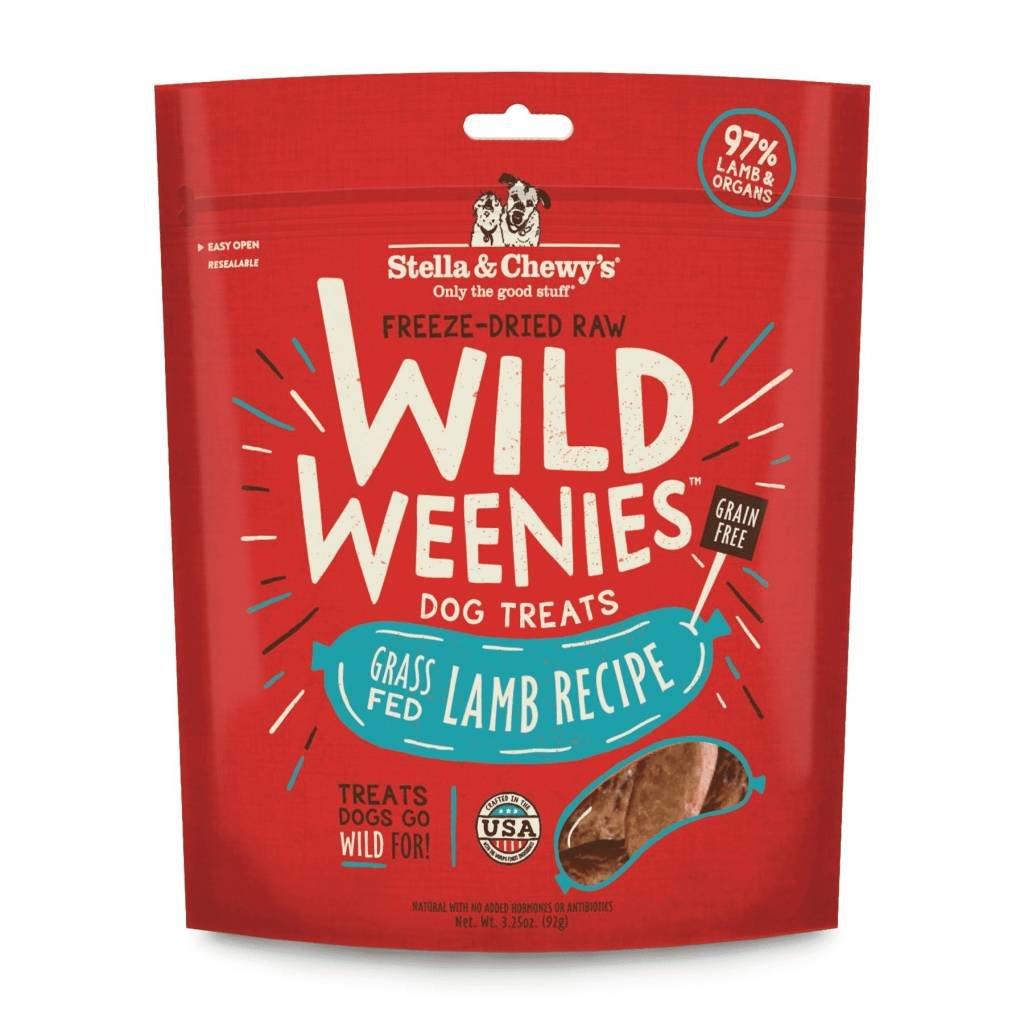 Stella and Chewys stellad fd weenies lamb 3.25oz