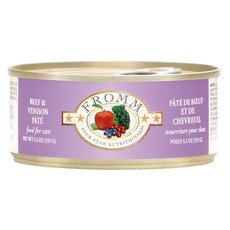 Fromm FROMMC BEEF & VENISON PATE 5.5OZ