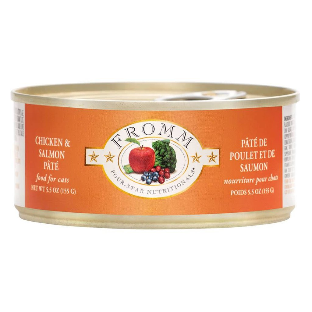 Fromm FROMMC CHICKEN SALMON 5.5oz