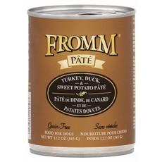 Fromm FROMMD GF TURKEY & DUCK PATE 12.2oz