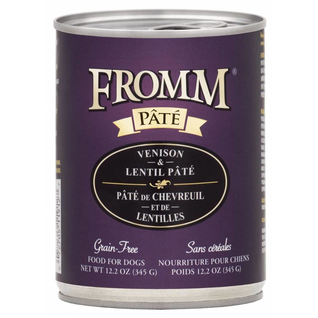 Fromm FROMMD GF VENISON PATE 12.2oz