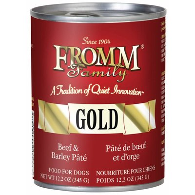 Fromm FROMMD GOLD BEEF & BARLEY 12.2oz