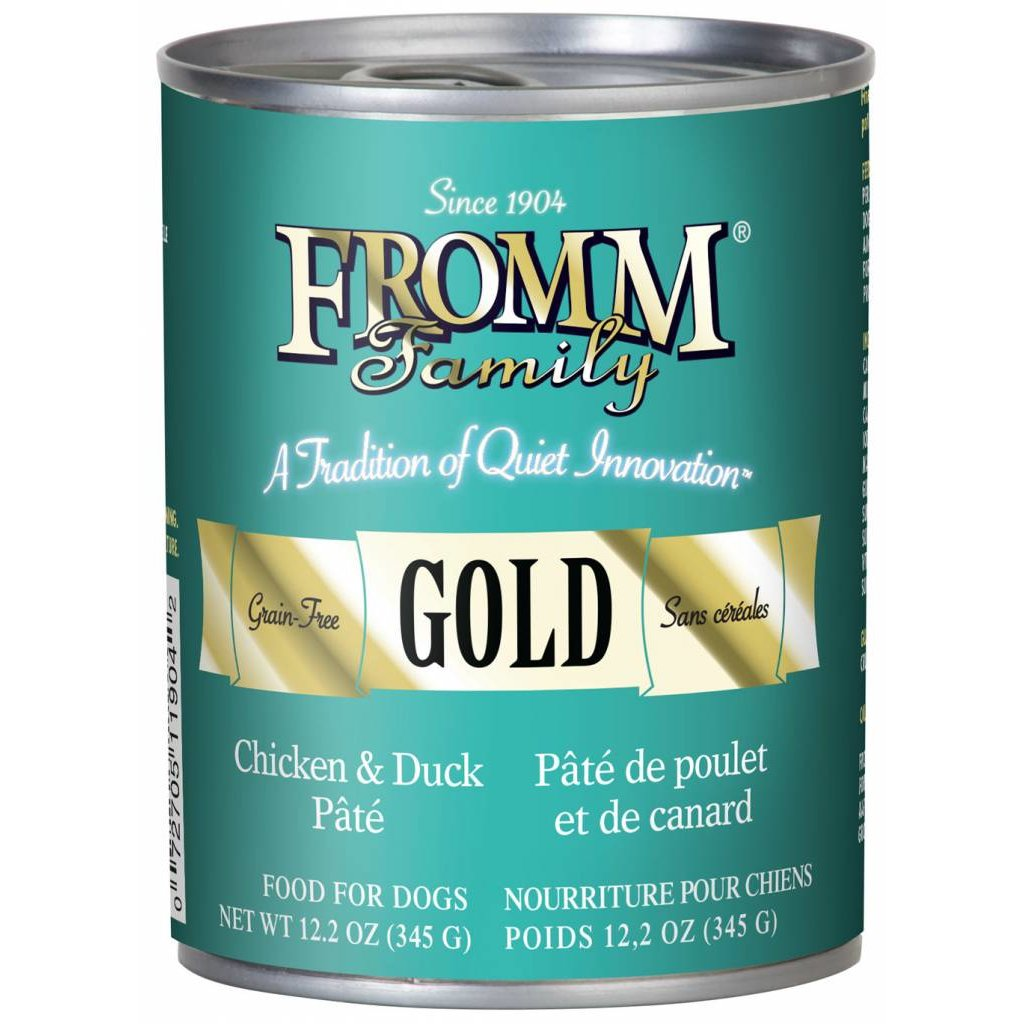 Fromm FROMMD GOLD DUCK & CHICKEN 12.2oz