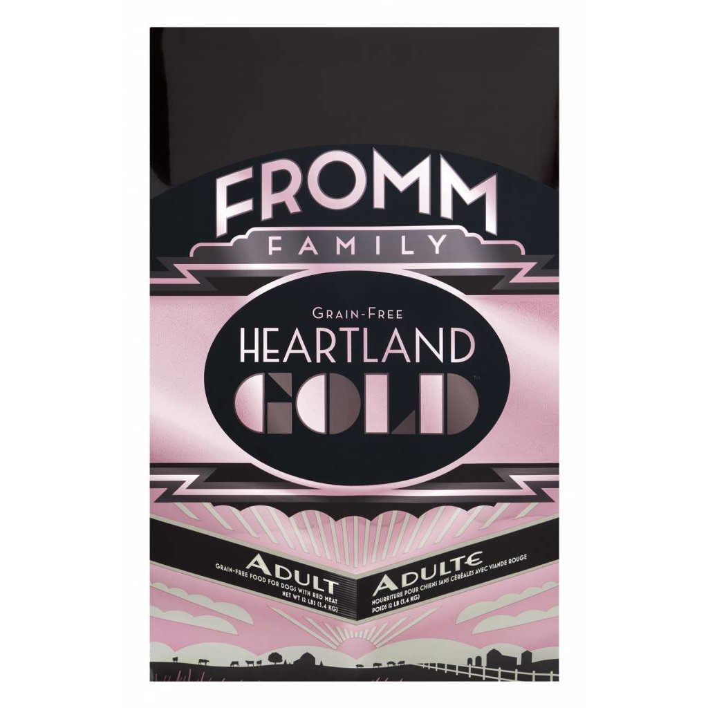 Fromm FROMMD GOLD HEARTLAND ADULT 12#