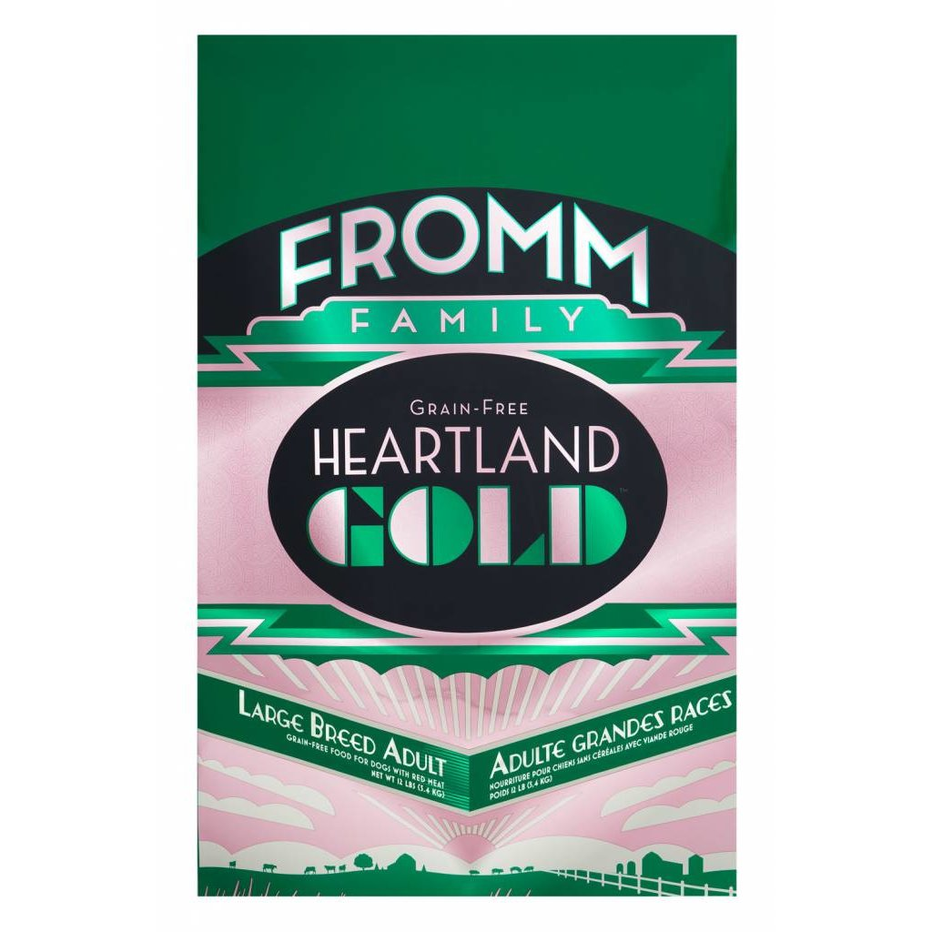 Fromm FROMMD GF HEARTLAND LB ADULT 12#