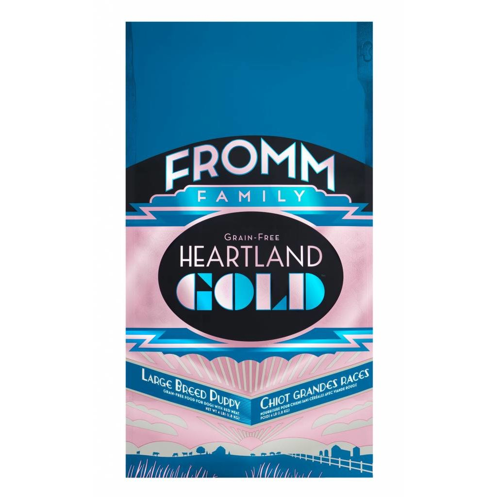 Fromm FROMMD GOLD HEARTLAND LB PUPPY 4#