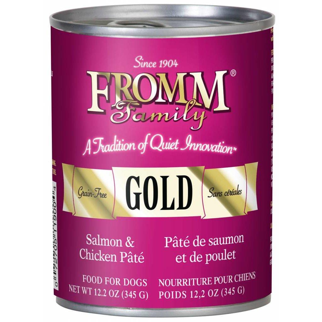 Fromm FROMMD GF SALMON & CHICKEN PATE 12.2oz