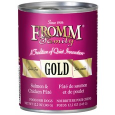 Fromm FROMMD GOLD SALMON CHICKEN 13oz
