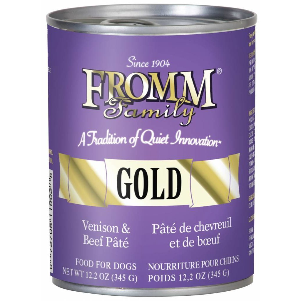 Fromm FROMMD GOLD VENISON BEEF 12.2oz
