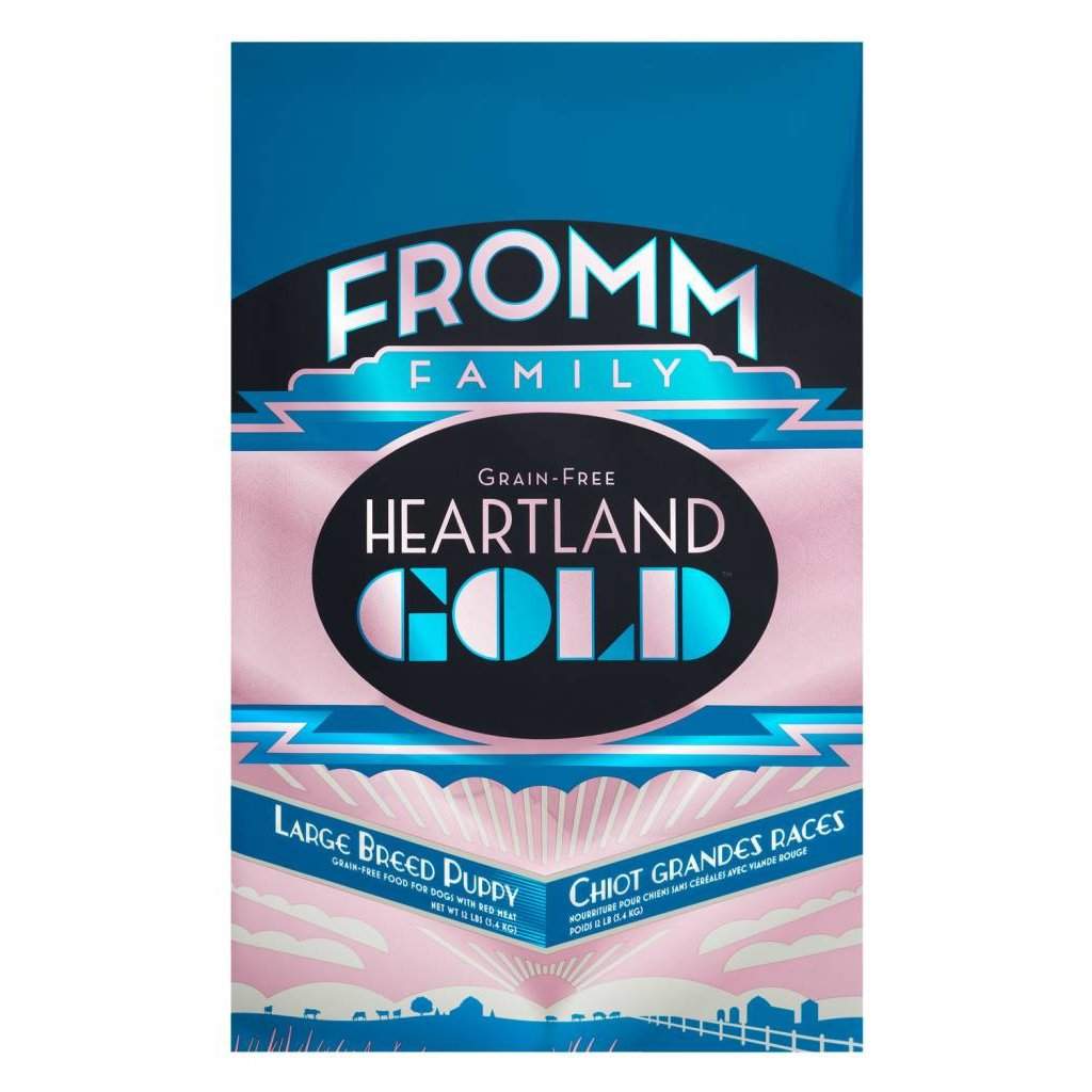 Fromm FROMMD HEARTLAND GOLD LB PUPPY 12#