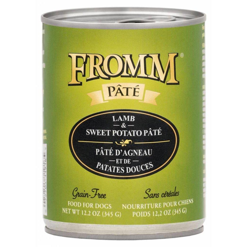 Fromm FROMMD GF LAMB & SWEET POTATO PATE 12.2OZ