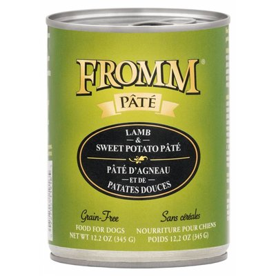 Fromm FROMMD GF LAMB & SWEET POTATO PATE 12.2OZ