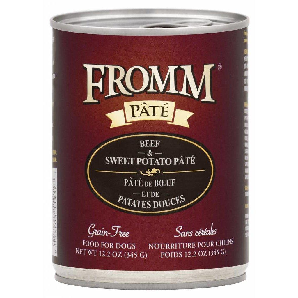 Fromm FROMMD GF BEEF & SWEET POTATO PATE 12.2oz