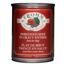 Fromm FROMMD SHREDDED BEEF 12oz