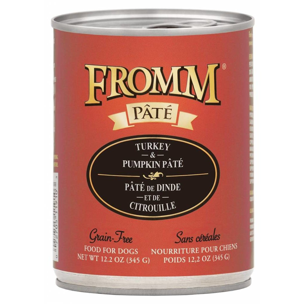 Fromm FROMMD GF TURKEY & PUMPKIN PATE 12.2OZ
