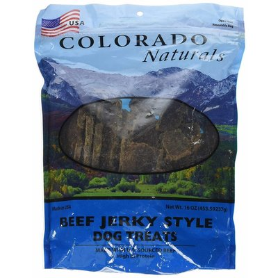 Colorado Naturals CPT JERKY BEEF 16oz