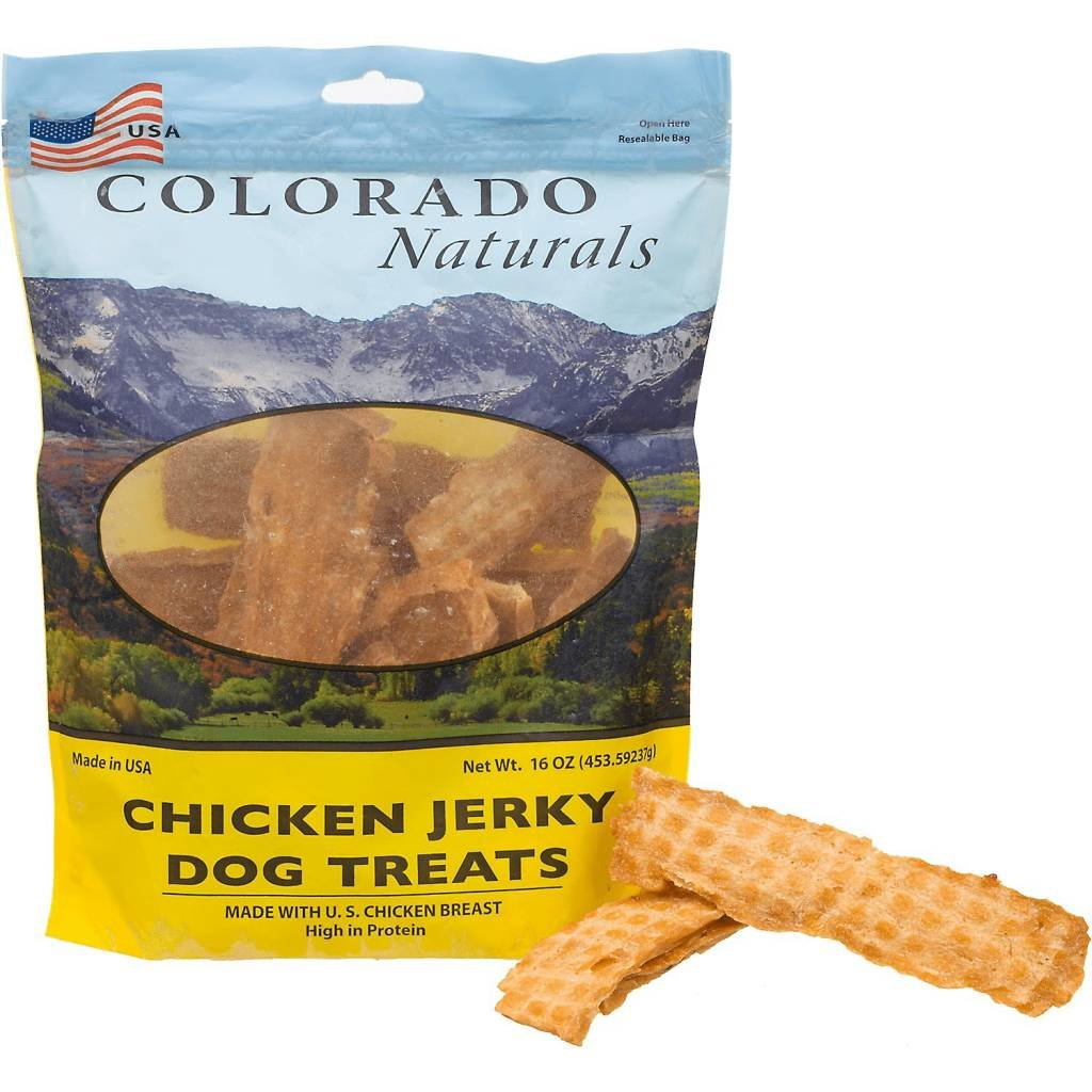 Colorado Naturals CPT JERKY CHICKEN 16oz