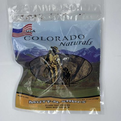 Colorado Naturals CPT MUTTN CHOPS 4oz