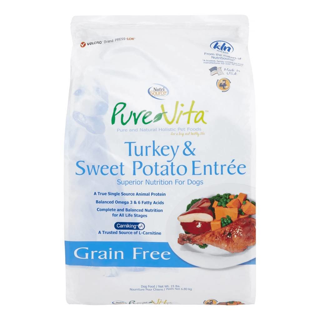 Nutrisource NSD PV TURKEY SWEET POTATO 15#