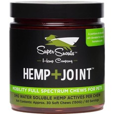 Super Snouts CBD SUPER SNOUTS HEMP JOINT CHEWS 30ct