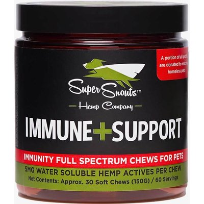 Super Snouts CBD SUPER SNOUTS IMMUNE SUPPORT CHEWS 30ct