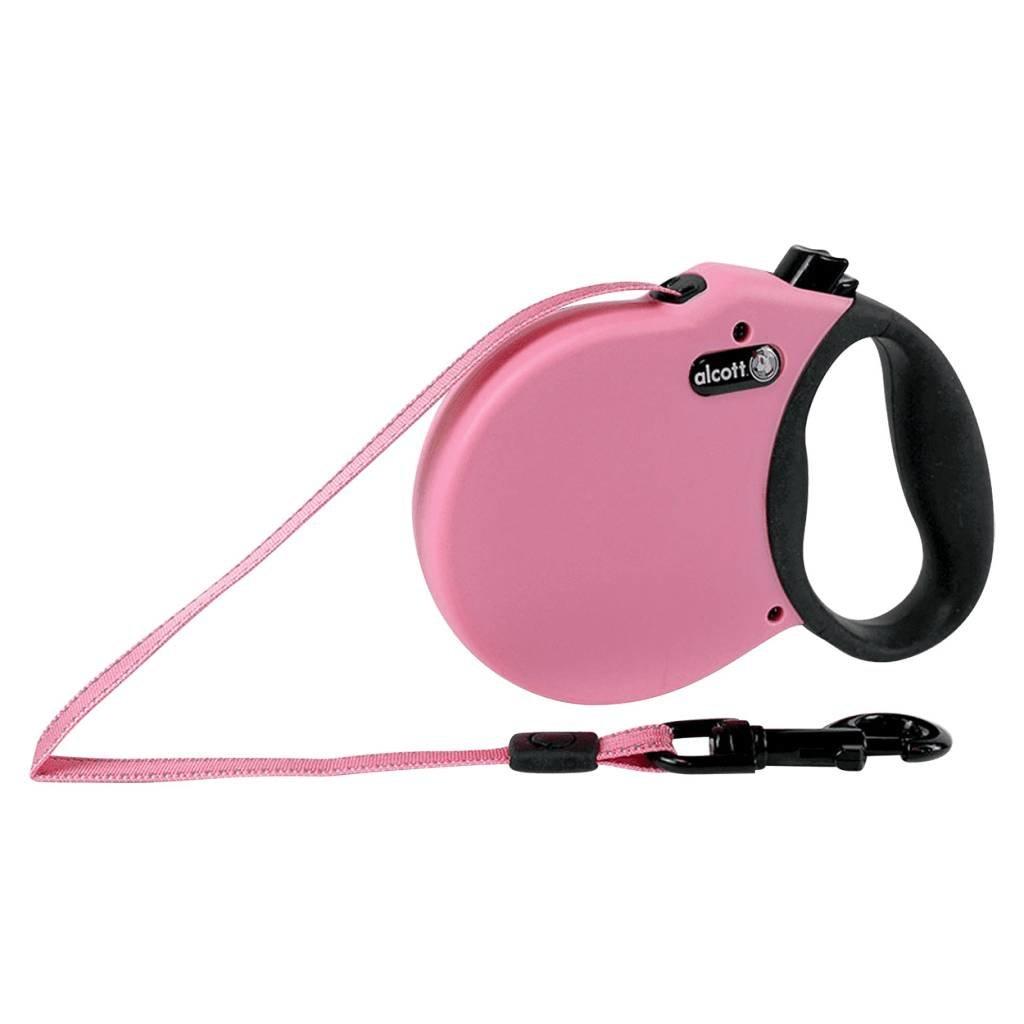 Alcott Alcott Retractable Leash pink XS