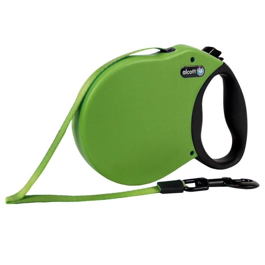 Alcott Alcott Retractable Leash Green XS
