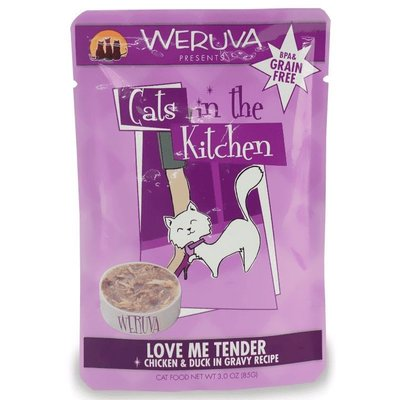 WERUVA Weruva Cat Love Me Tender 3oz Pouch (CITK)