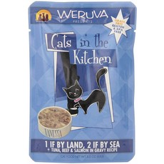 WERUVA Weruva Cat One If By Land, Two If By Sea 3oz Pouch (CITK)