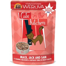 WERUVA Weruva Cat mack, Jack and sam 3oz Pouch (CITK)