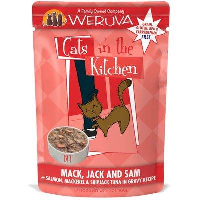 WERUVA Weruva Cat mack, Jack and sam 3oz Pouch (CITK)