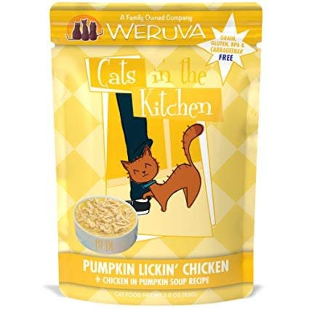 WERUVA Weruva Cat Pumpkin Lickin' Chicken 3oz pouch (CITK)