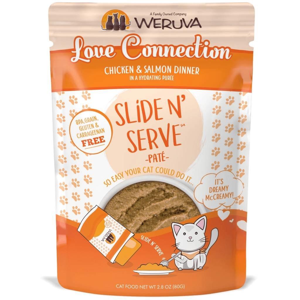 WERUVA Weruva Cat Love Connection 2.8oz Pouch (Slide & Serve)