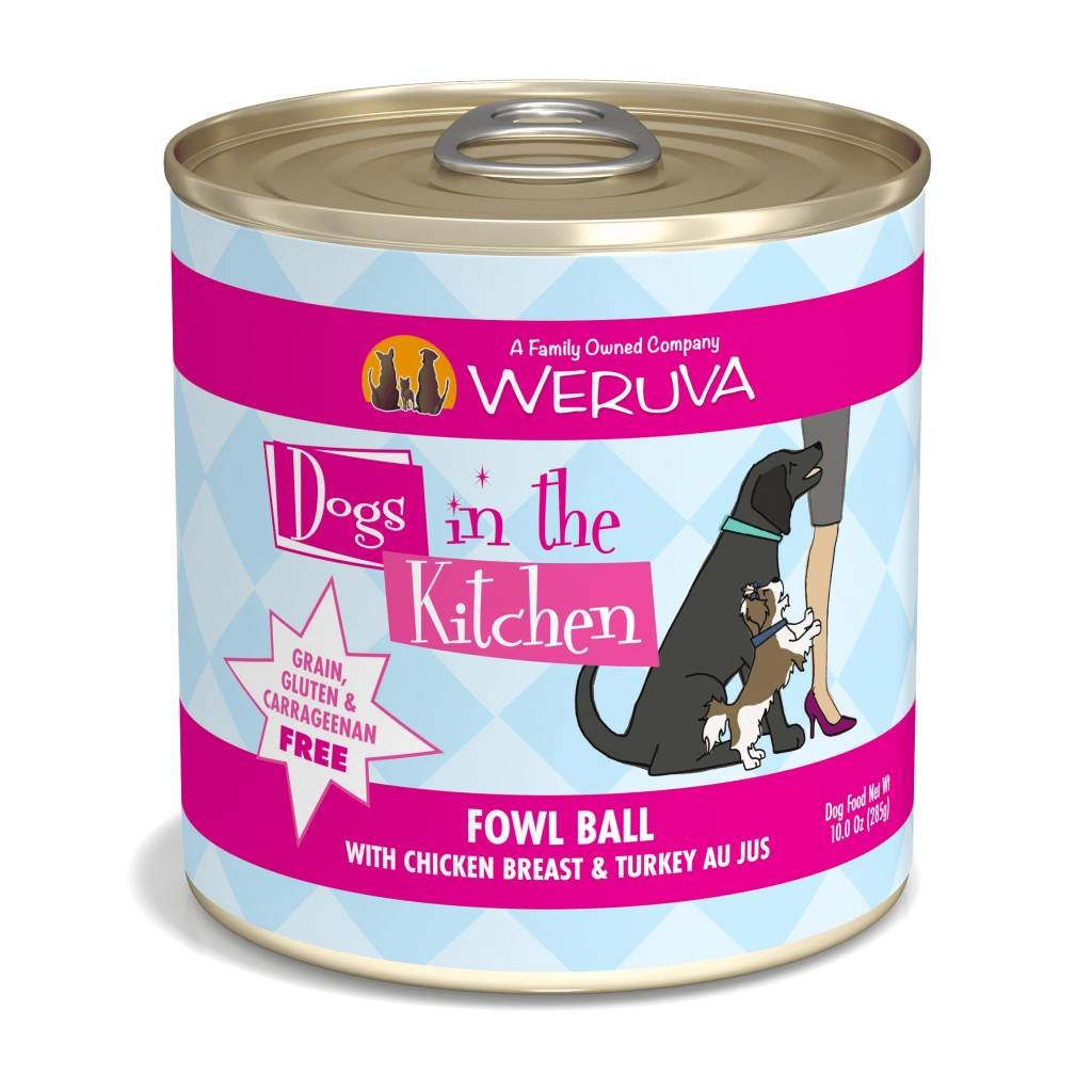 WERUVA Weruva Dog DITK FOWL BALL 10oz