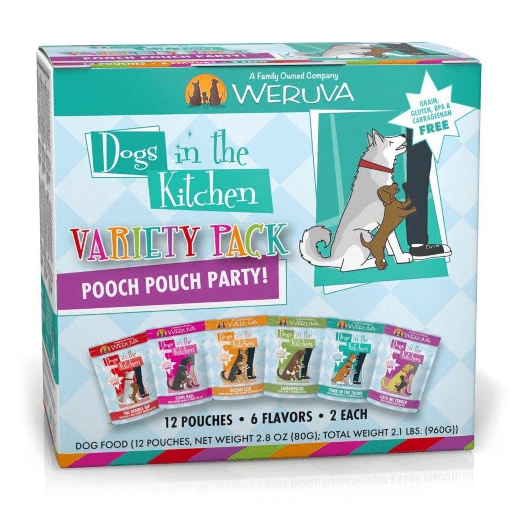 WERUVA Weruva Dog DITK VARIETY 12 PACK