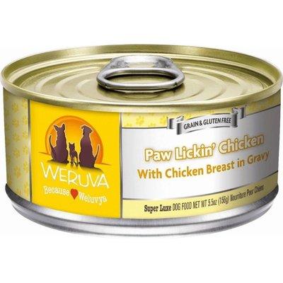 WERUVA Weruva Dog PAW LICKIN CHICKEN 5.5OZ