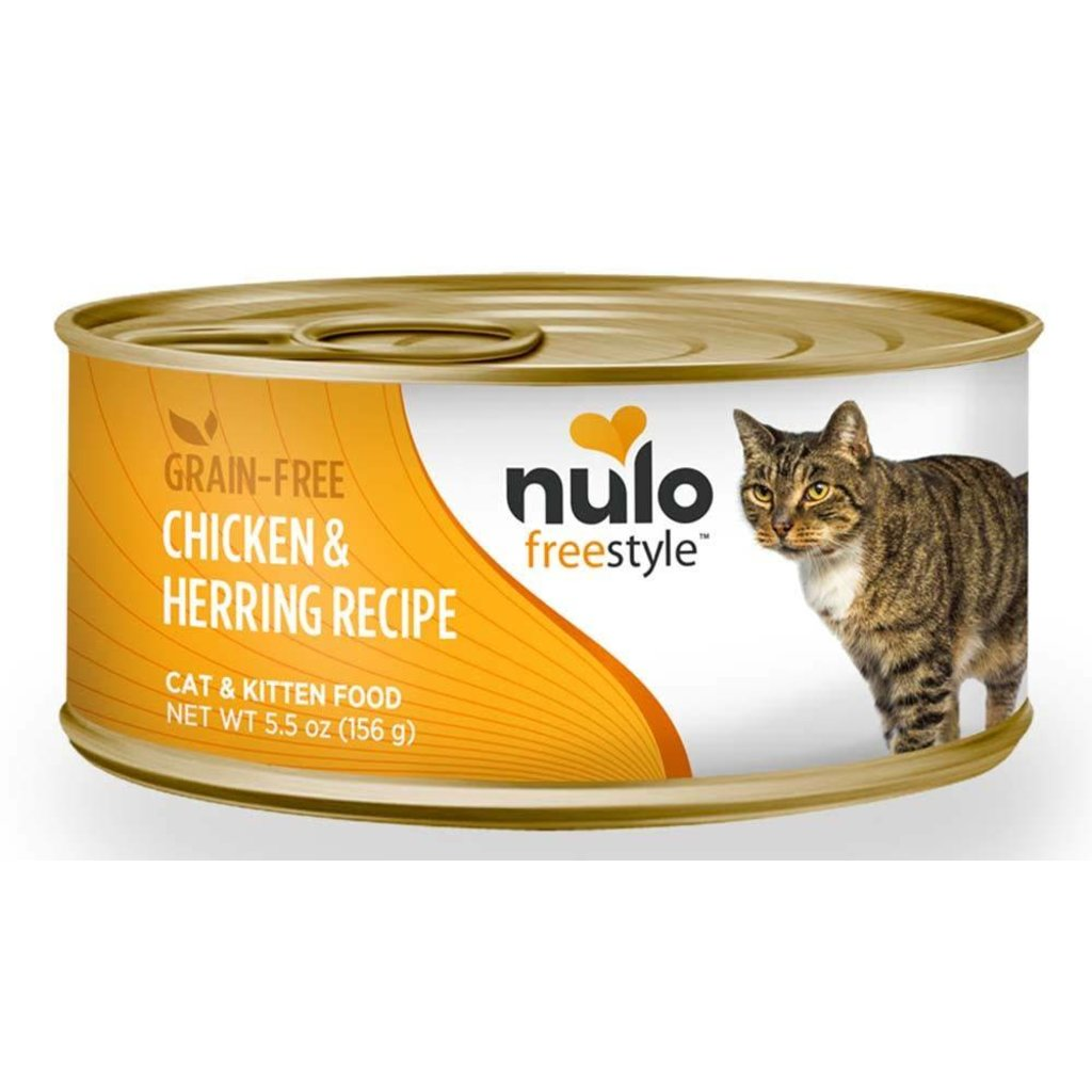 Nulo NUL CAN CT G/F CHKN/HERRING5.5
