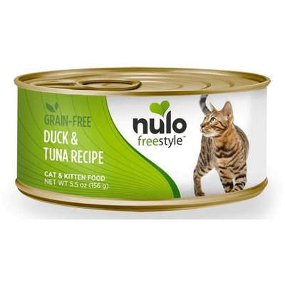 Nulo NUL CAN CT G/F DUCK/TUNA 5.5OZ