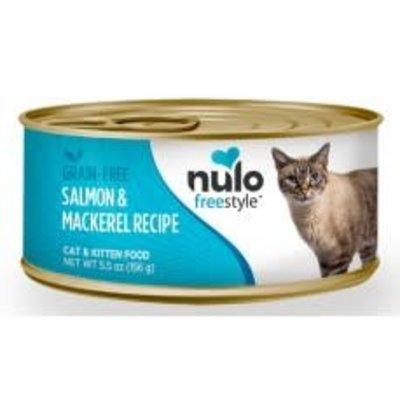 Nulo Nulo Cat Salmon & Mackerel 5.5oz