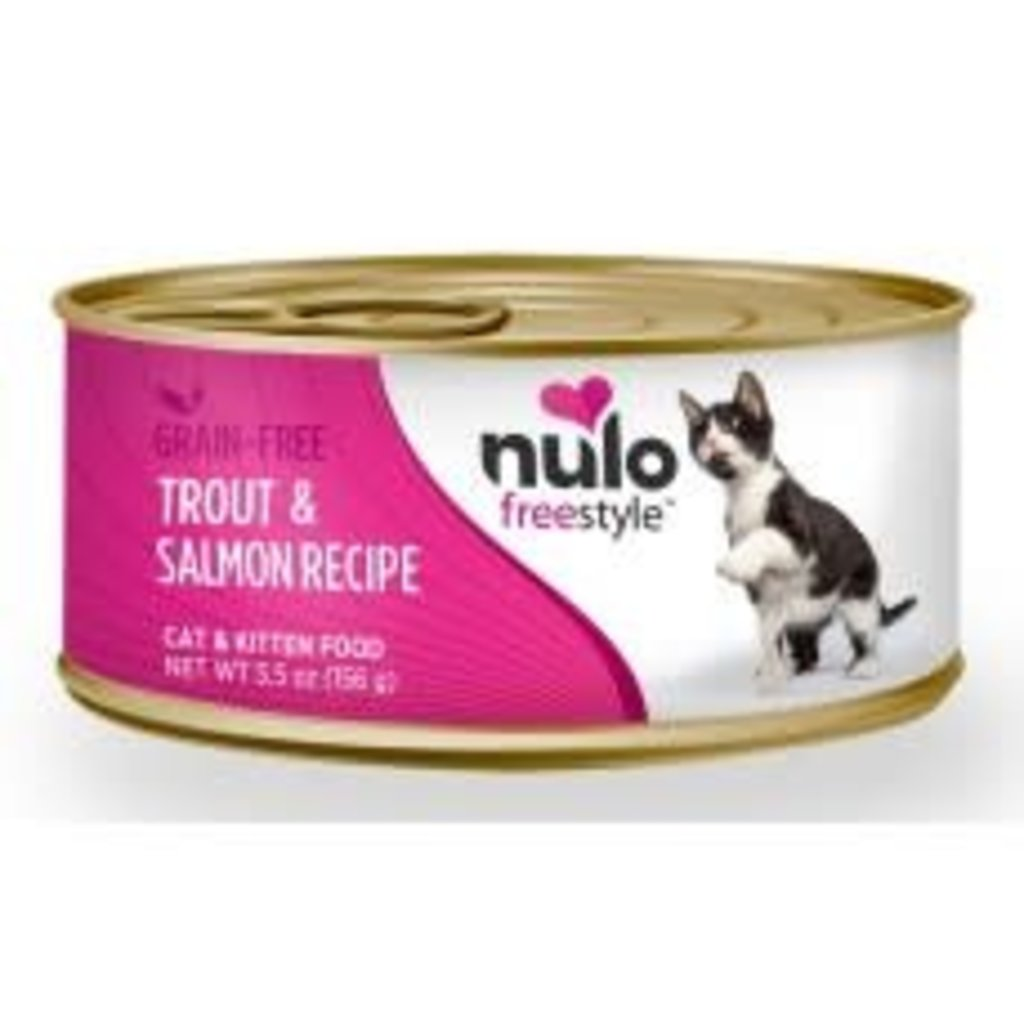 Nulo Nulo Cat Trout & Salmon 5.5oz